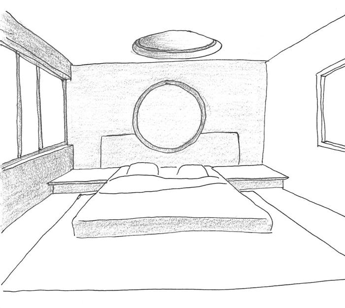 Dessin 3d Maison. Gt Plans Dessin D Maison Moderne Niveaux Loire ...